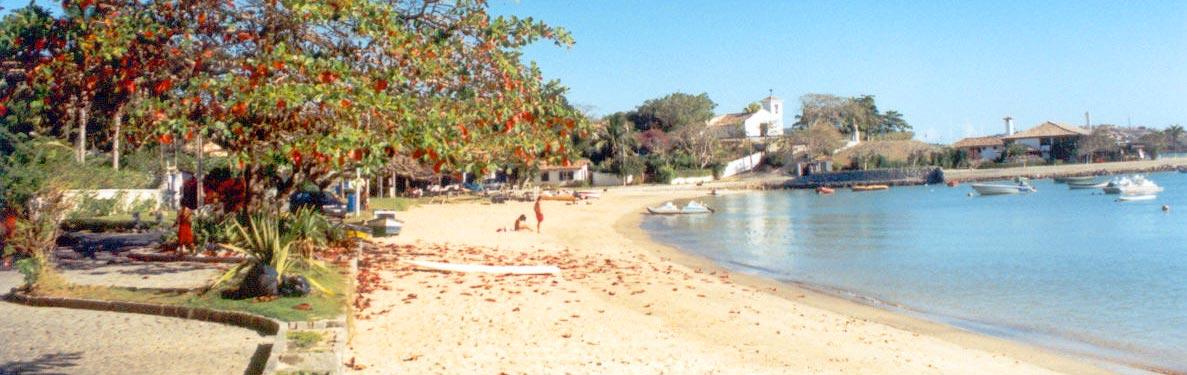 Praia dos Ossos, em Búzios