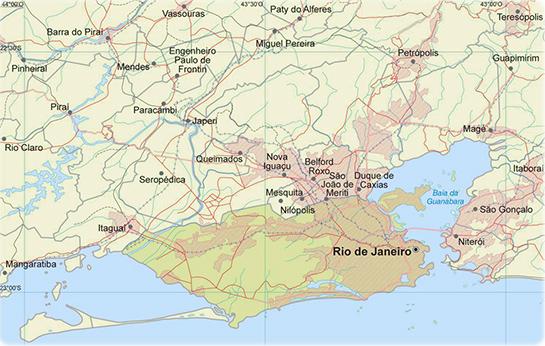 Rio De Janeiro Mapa Bairros.Mapa Da Cidade Do Rio De Janeiro Rj